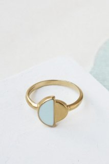 Shlomit Ofir | Contrast Ring (aqua) | リング