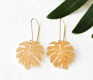 Shlomit Ofir | Jungle Earrings (gold) | ピアス