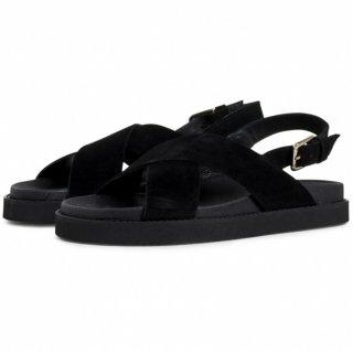 GARMENT PROJECT | Yodo (black/black suede) | 36サイズ/23cm【送料無料 北欧 デンマーク サンダル シンプル】