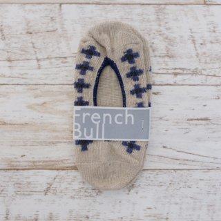 French Bull (フレンチブル) | チロルカバー (ベージュ) | ソックス【シンプル 可愛い 靴下】