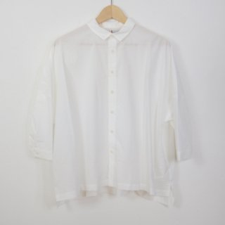 STAMP AND DIARY | シャツカラービックブラウス (white) | トップス