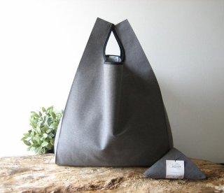 【ネコポス送料無料】ATELIER SETTEMBRE | MINIMALIST TOTE BAG (gray) | トートバッグ/ショッピングバッグ