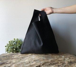 【ネコポス送料無料】ATELIER SETTEMBRE | MINIMALIST TOTE BAG (black pinstripe) | トートバッグ/ショッピングバッグ