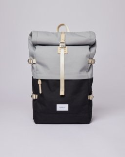 SANDQVIST | BERNT (multi grey/black) | バッグ【北欧 スウェーデン リュック シンプル】
