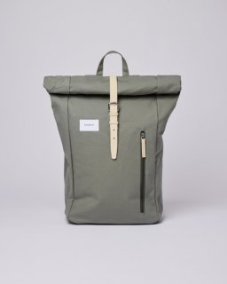 SANDQVIST | DANTE (dusty green with natural leather) | バッグ【北欧 シンプル スウェーデン リュック】