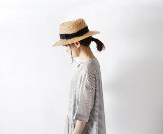 French Bull (フレンチブル) | バカンスハット (キナリ) | 帽子【シンプル 可愛い 麦わら帽子】