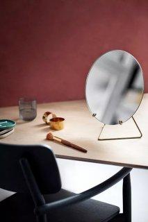 MOEBE | STANDING MIRROR (brass) 30cm | 卓上ミラー/鏡