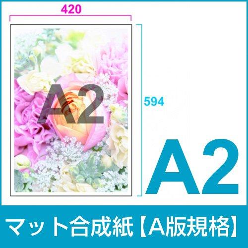 マット合成紙A2