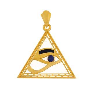 ホルス神のピラミッドペンダント