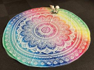 ヨガマット ロータス・レインボーサークル(Mystery of Mandala) 002