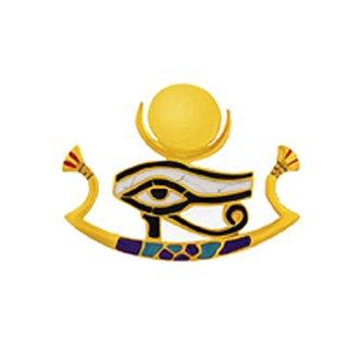 ロータス&ホルス神のピアス(gold)