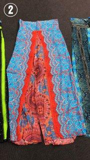 穏やかな海の色に輝くオレンジ曼荼羅 002