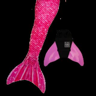 マーメイドテール&モノフィンセット Bahama Pink 024