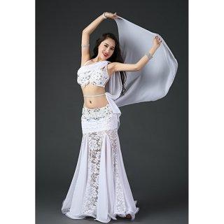 ベリーダンスドレス White 030001