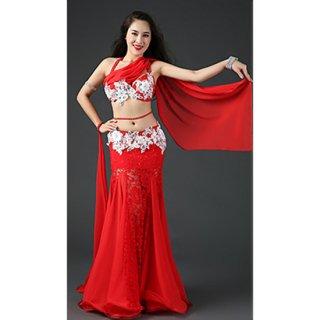 ベリーダンスドレス Red 030003