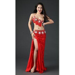 ベリーダンスドレス Red 032002