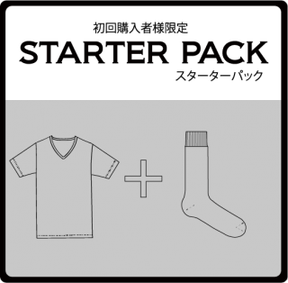 Starter Pack T-SHIRT(gray)& SOX(gray)