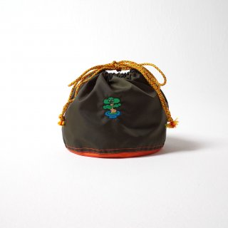 BONSAI POT BAG カーキ