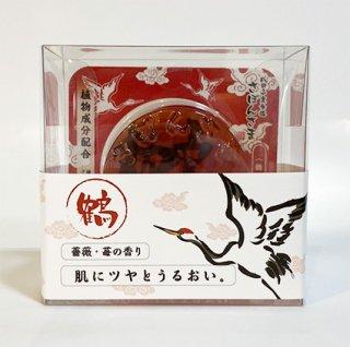 成田山表参道 さぼんさま〈鶴〉薔薇と苺の香り 80g