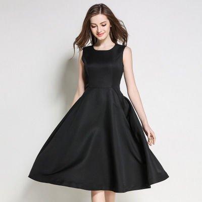 シンプル モノカラー ノースリーブ ミディアム スリム 結婚式 ドレス