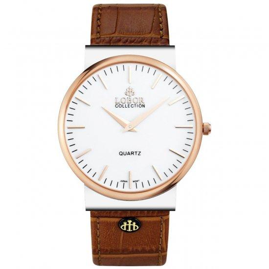 【LOBOR】ロバー NATTY HOLBORN BROWN 腕時計