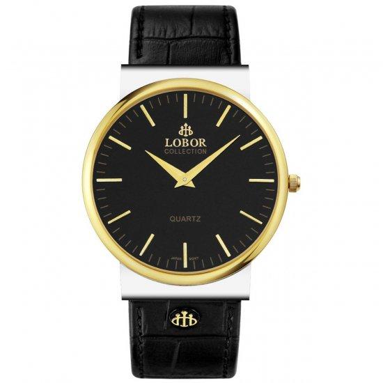 【LOBOR】ロバー NATTY BEVIS BLACK 腕時計