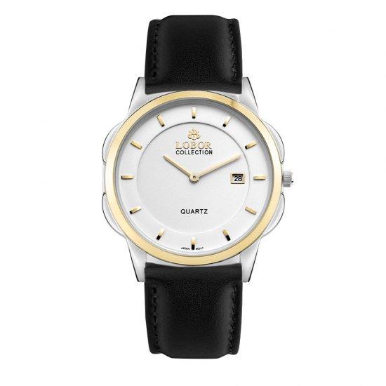 【LOBOR】ロバー CLASSY S LAMBETH BLACK 39mm 腕時計