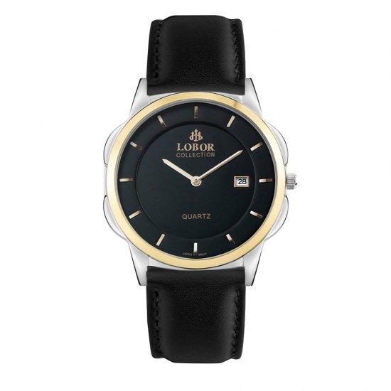 【LOBOR】ロバー CLASSY S MURRAY BLACK 39mm 腕時計