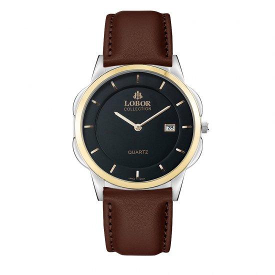 【LOBOR】ロバー CLASSY S MURRAY BROWN 39mm 腕時計