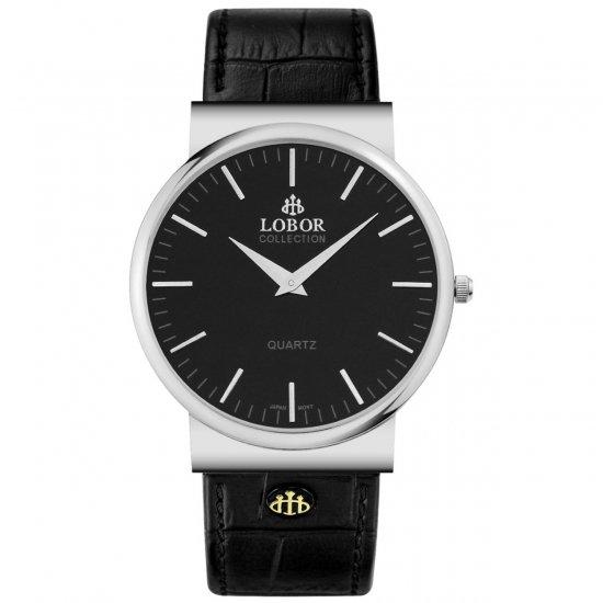 【LOBOR】ロバー NATTY COLEMAN BLACK 腕時計