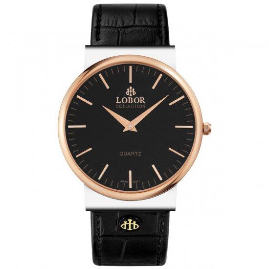 【LOBOR】ロバー NATTY FETTER BLACK 腕時計