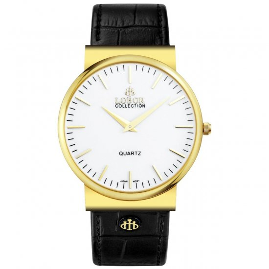 【LOBOR】ロバー NATTY CURZON BLACK 腕時計