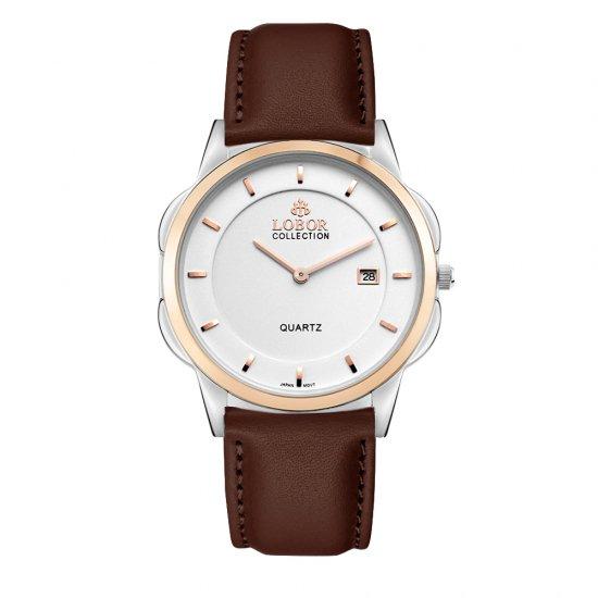 【LOBOR】ロバー CLASSY S SHEFFIELD BROWN 39mm 腕時計