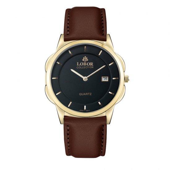 【LOBOR】ロバー CLASSY S HARCOURT BROWN 39mm 腕時計