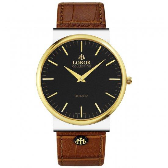【LOBOR】ロバー NATTY BEVIS BROWN 腕時計