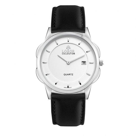 【LOBOR】ロバー CLASSY S NORTHCOTE BLACK 39mm 腕時計