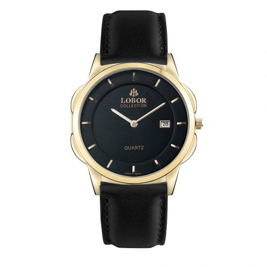 【LOBOR】ロバー CLASSY S HARCOURT BLACK 39mm 腕時計