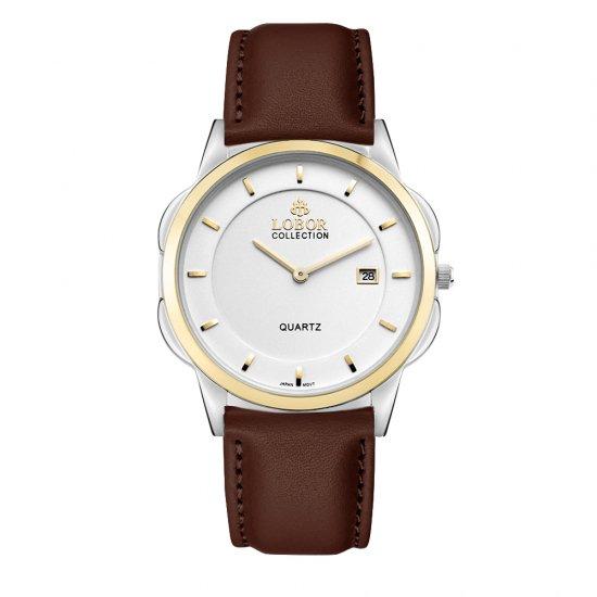 【LOBOR】ロバー CLASSY S LAMBETH BROWN 39mm 腕時計