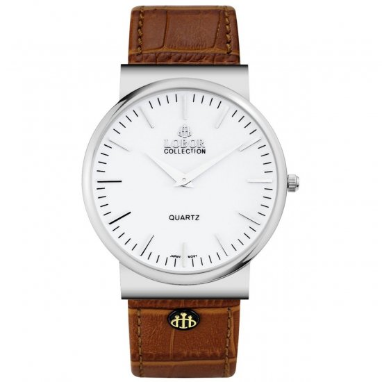 【LOBOR】ロバー NATTY BYWARD BROWN 腕時計
