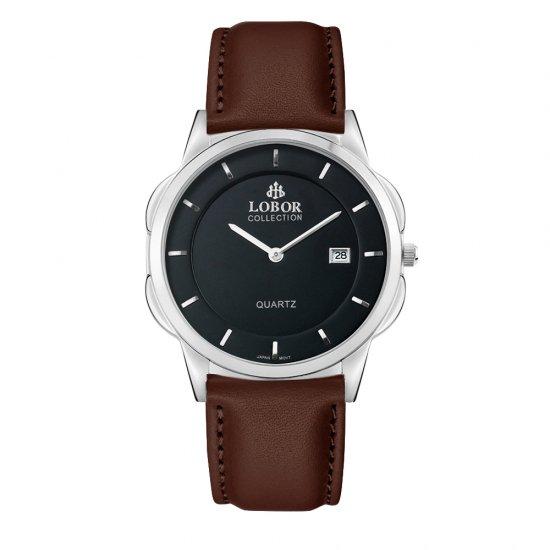 【LOBOR】ロバー CLASSY S SAIGON BROWN 39mm 腕時計