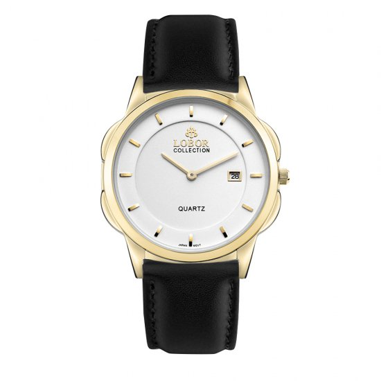 【LOBOR】ロバー CLASSY S STAVELEY BLACK 39mm 腕時計