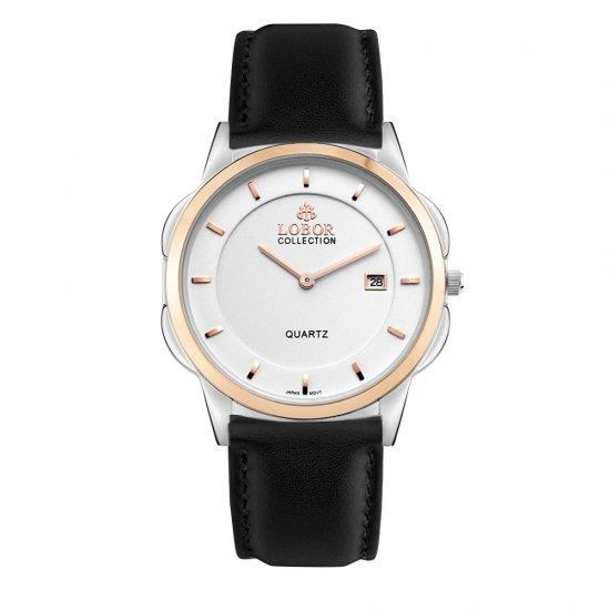 【LOBOR】ロバー CLASSY S SHEFFIELD BLACK 39mm 腕時計