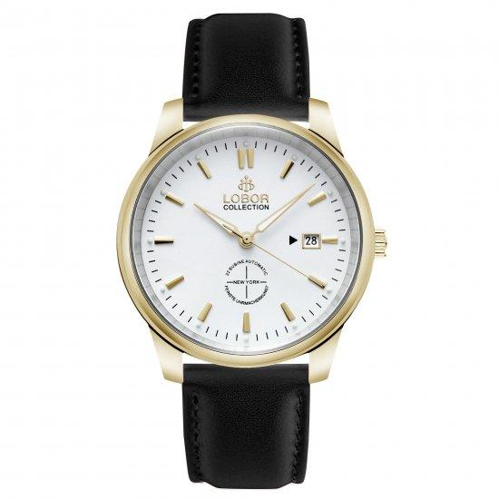 【LOBOR】ロバー NEW YORK MORTON BLACK 腕時計