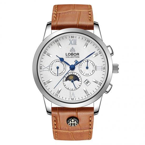 【LOBOR】ロバー CELLINI S DES VOEUX (BROWN) 腕時計