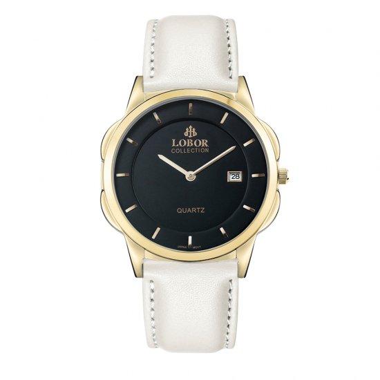 【LOBOR】ロバー CLASSY S HARCOURT OFF WHITE 39mm 腕時計