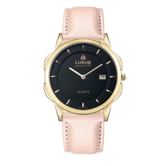 【LOBOR】ロバー CLASSY S HARCOURT PINK 39mm 腕時計