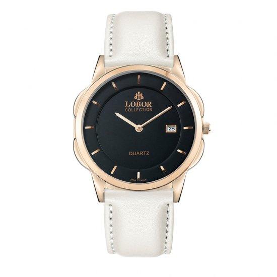 【LOBOR】ロバー CLASSY S JAGUAR OFF WHITE 39mm 腕時計