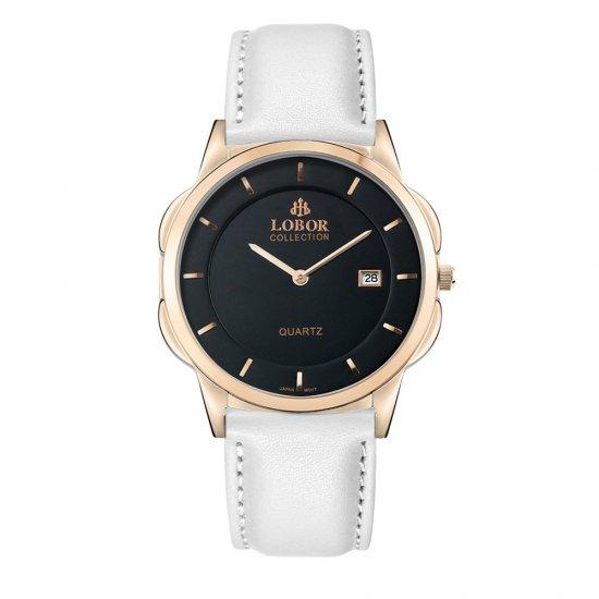 【LOBOR】ロバー CLASSY S JAGUAR WHITE 39mm 腕時計