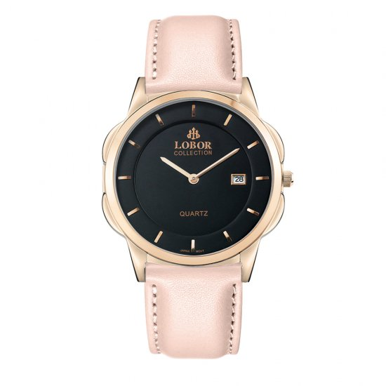 【LOBOR】ロバー CLASSY S JAGUAR PINK 39mm 腕時計
