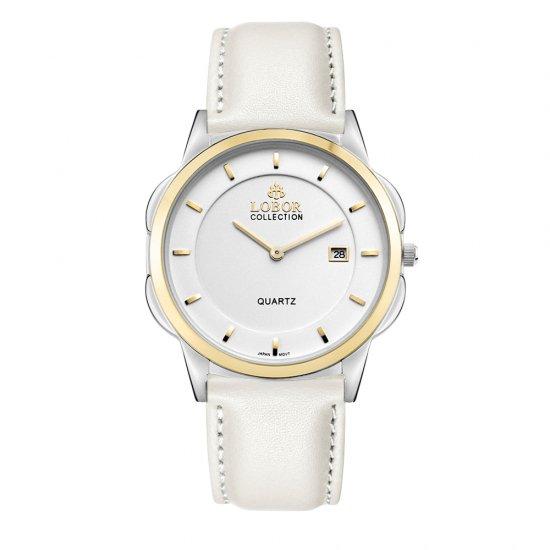 【LOBOR】ロバー CLASSY S LAMBETH OFF WHITE 39mm 腕時計
